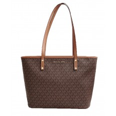 Kabelka Michael Kors Jet Set Travel MD Carryall Tote brown/acorn