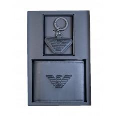 Peněženka Emporio Armani + klíčenka