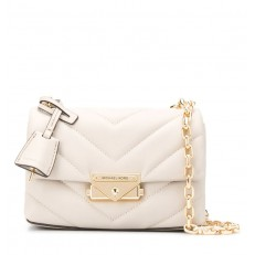 Kabelka Michael Kors Cece Extra-Small Quilted Leather Crossbody light sand