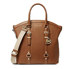 Kabelka Michael Kors Bedford Legacy Large Pebbled Leather Dome Tote luggage