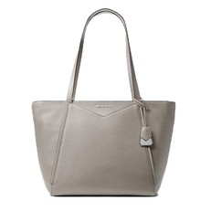 Kabelka Michael Kors Whitney Large Leather Tote pearl grey