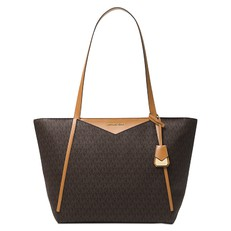Kabelka Michael Kors Whitney Large Logo Tote brown