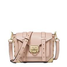 Kabelka Michael Kors Manhattan Small Leather Crossbody soft pink