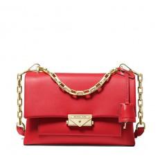 Kabelka Michael Kors Cece Medium Leather Shoulder bright red