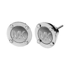 Naušnice Michael Kors Stud stříbrné