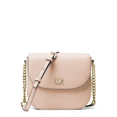 Kabelka Michael Kors Mott Leather Dome Crossbody soft pink