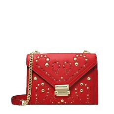 Kabelka Michael Kors Whitney Large Embellished Leather Convertible Shoulder