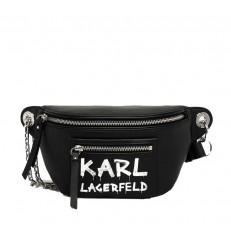 Kabelka ledvinka Karl Lagerfeld K/Soho Graffiti Bumbag