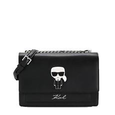 Kabelka Karl Lagerfeld K/Ikonik Metal Lock Shoulder