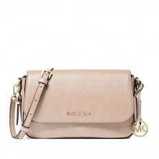 Kabelka Michael Kors Bedford Legacy Leather Flap Crossbody soft pink