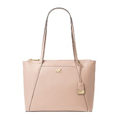 Kabelka Michael Kors Maddie Medium Crossgrain Leather Tote soft pink
