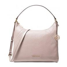 Kabelka Michael Kors Aria Leather Shoulder soft pink
