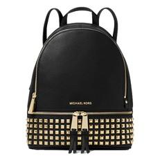 Kabelka batoh Michael Kors Rhea Medium Studded Leather Backpack