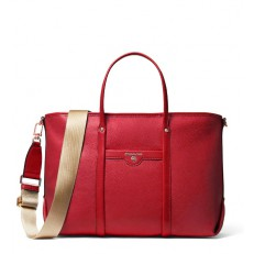Kabelka Michael Kors Beck Medium Tote bright red