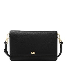 Kabelka Michael Kors Pebbled Leather Convertible Crossbody černá