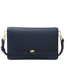 Kabelka Michael Kors Pebbled Leather Convertible Crossbody admiral