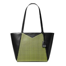 Kabelka Michael Kors Whitney Large Checkerboard Logo Leather Tote