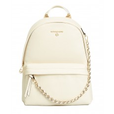 Kabelka Michael Kors Slater Medium Convertible Backpack light cream