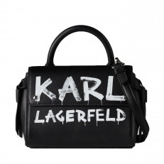 Kabelka Karl Lagerfeld K/Ikon Graffiti Mini Top-Handle