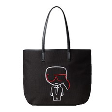 Kabelka Karl Lagerfeld K/Ikonik Canvas Shopper