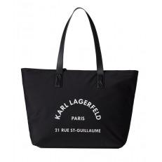 Kabelka Karl Lagerfeld Rue St Guillaume Nylon Tote