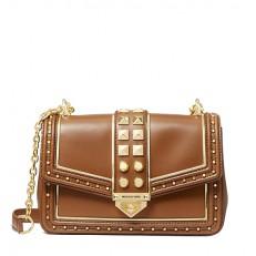 Kabelka Michael Kors Soho LG Studded Shoulder luggage