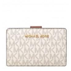 Peněženka Michael Kors Jet Set Travel Bifild Zip vanilla