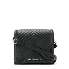 Kabelka Karl Lagerfeld K/Klassik Quilted Leather Crossbody Bag