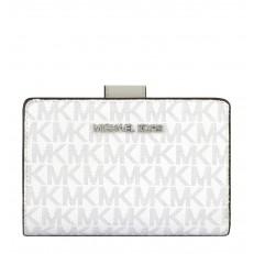 Peněženka Michael Kors Jet Set Travel Bifild Zip bright white