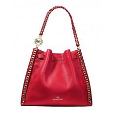 Kabelka Michael Kors Mina LG Shoulder bright red