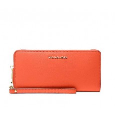 Peněženka Michael Kors LG Continental clementine