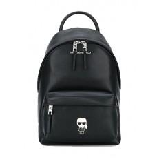 Kabelka batoh Karl Lagerfeld K/Ikonik Metal Pin Backpack