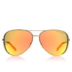 Sluneční brýle Michael Kors Chelsea zlaté/oranžové