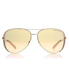 Sluneční brýle Michael Kors Chelsea růžovo-zlaté/hnědé