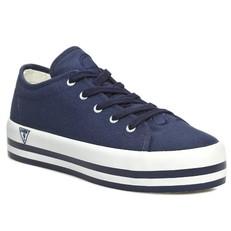 Boty tenisky Guess modré