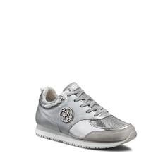 Boty tenisky Guess Reeta stříbrné