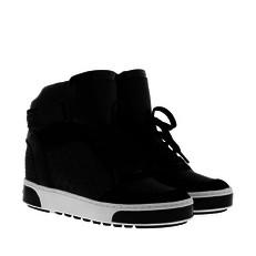 Boty kotníkové tenisky Michael Kors Pia High Top černé