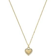 Náhrdelník Michael Kors Heart zlatý