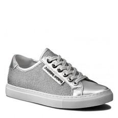 Boty tenisky Armani Jeans stříbrné
