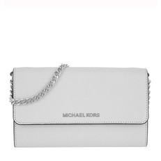 Kabelka Michael Kors Jet Set Travel Smartphone Crossbody aluminium