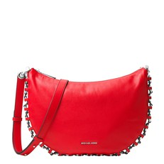 Kabelka Michael Kors Piper Medium Messenger brigt red