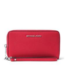 Peněženka Michael Kors Jet Set Travel Large Smartphone Wristlet brigt red
