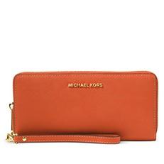 Peněženka Michael Kors Jet Set Travel Continental orange