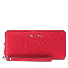Peněženka Michael Kors Mercer Travel Continental bright red