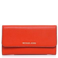 Peněženka Michael Kors Mercer Tri-Fold Leather Wallet orange