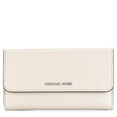 Peněženka Michael Kors Mercer Tri-Fold Leather Wallet cement