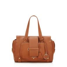 Kožená kabelka Guess Elly
