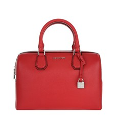 Kabelka Michael Kors Mercer Medium Leather Duffel bright red