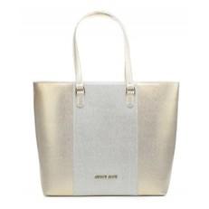 Kabelka Armani Jeans stříbrná/zlatá