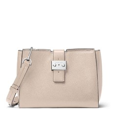 Kabelka Michael Kors Bond Medium Messenger cement